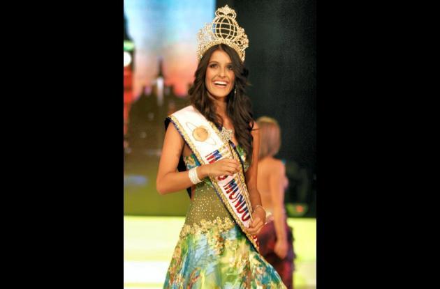 Mónica Restrepo, fue elegida como la nueva Miss Mundo Colombia