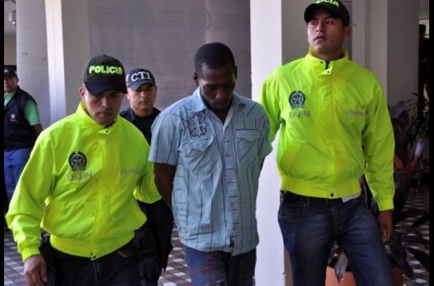 Víctor Fidel Hinostroza Mena alias 'El blanquito', capturado