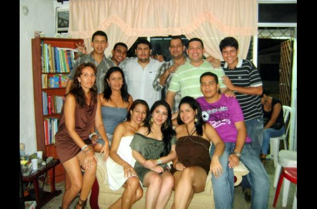 Cumpleaños de Claudia Pimentel