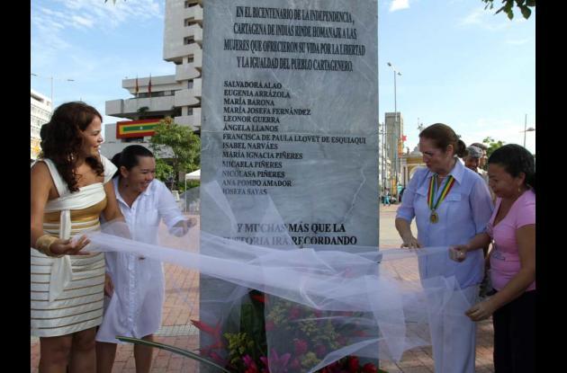 Homenaje a mujeres cartageneras