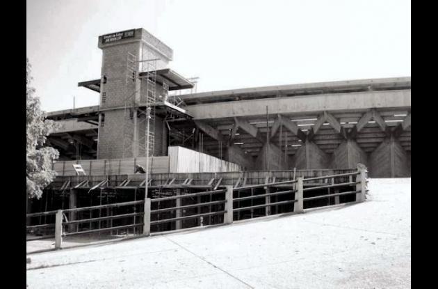 Exterior del estadio.