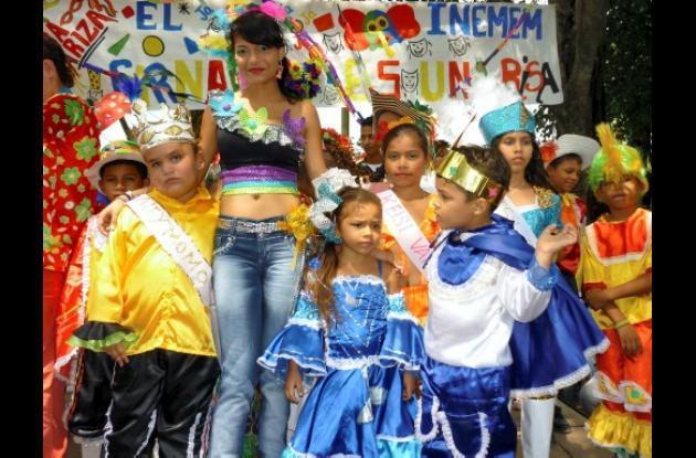 La reina del Carnaval 2011, María José Padilla