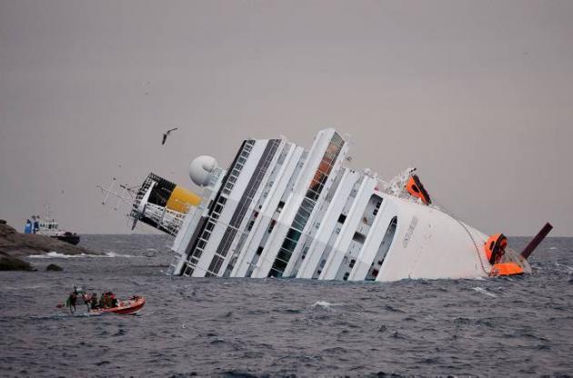 Crucero Costa Concordia.