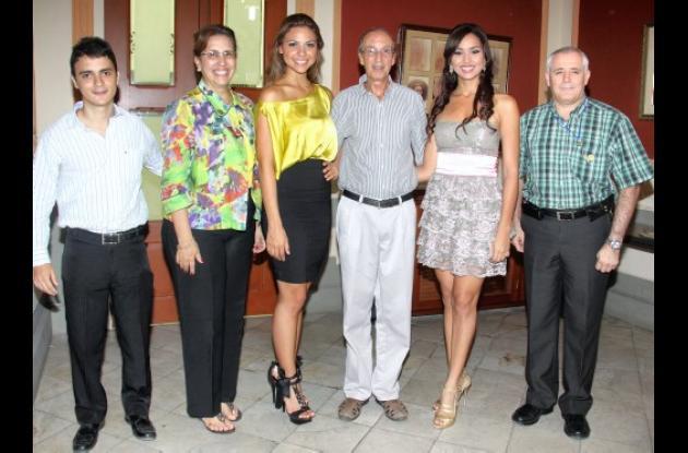 Homenaje a beldades de Cartagena