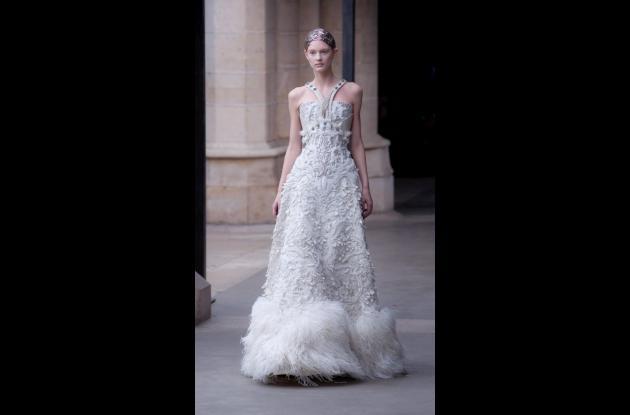 vestido de novia de Alexander McQueen