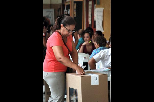 Jornada de elecciones 2011 en Cartagena