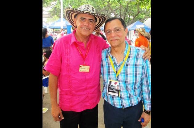 Fredy Sierra y Fernando Meneses.