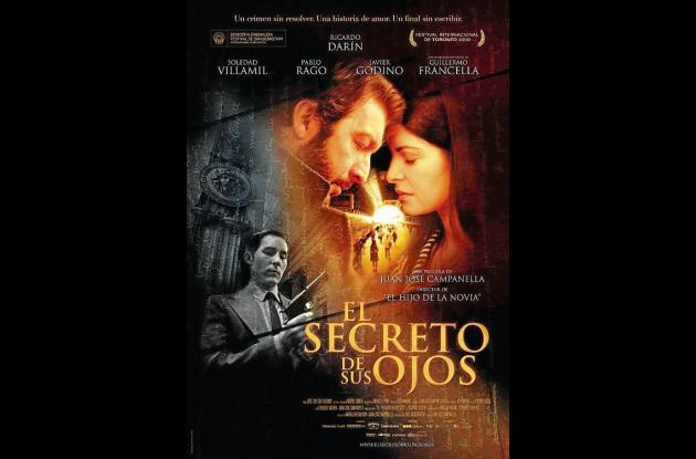 Imagen promocional del filme El Secreto de tus ojos.