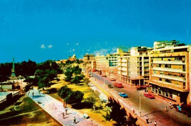 1964: Parque del Centenario, una panorámica.