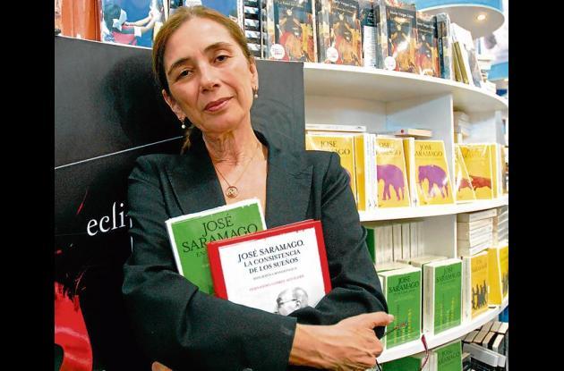 Pilar del Rio, viuda del escritor José Saramago.