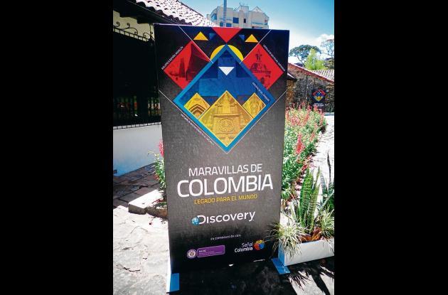 serie Maravillas de Colombia