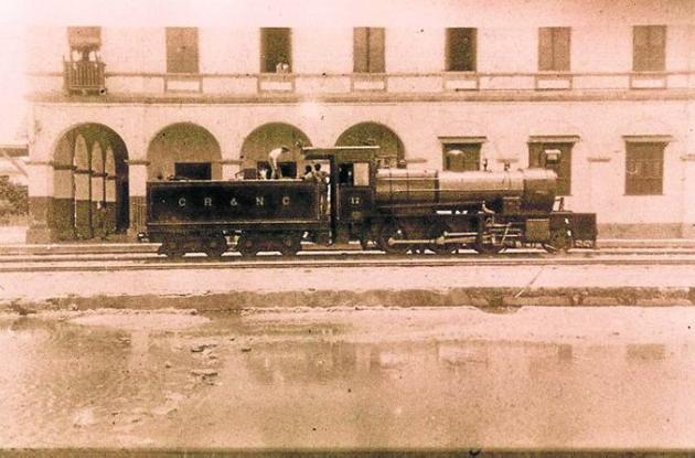 Cartagena tuvo tren desde 1894 hasta 1950.