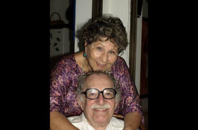 Gabriel García Márquez y Gloria Triana.