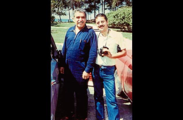 Gabriel García Márquez y Eduardo Márceles Daconte.