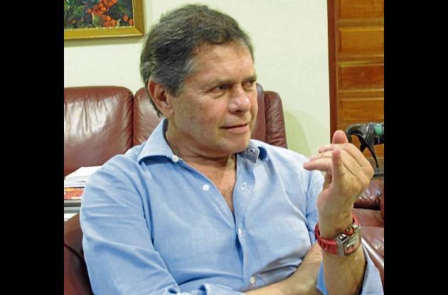 El empresario colombiano Carlos Mattos. Entrevista exclusiva de El Universal.