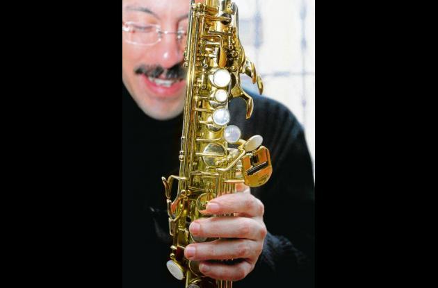 El músico colombiano Antonio Arnedo.