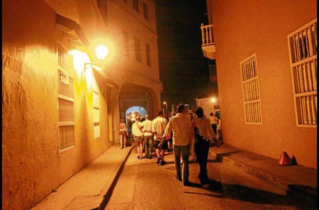 La seducción de la noche en Cartagena.
