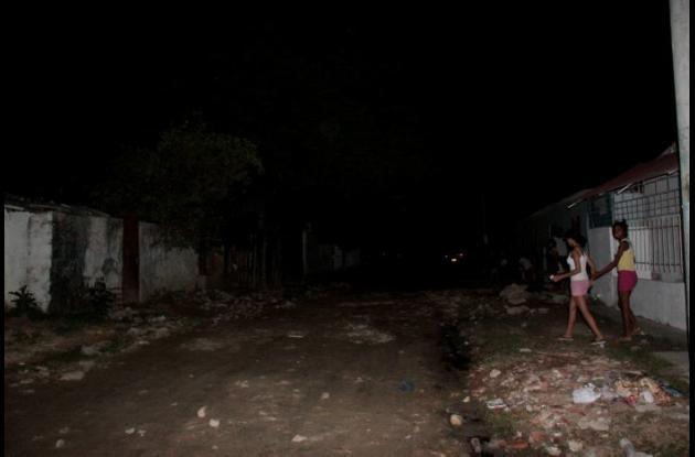 Habitantes del barrio San Isidro