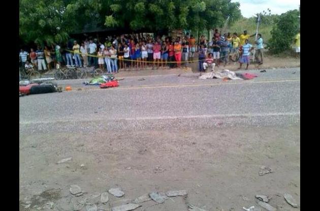 Accidente en Zambrano, Bolívar