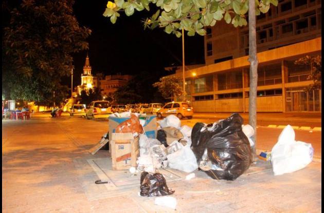 Basuras Centro Histórico Cartagena