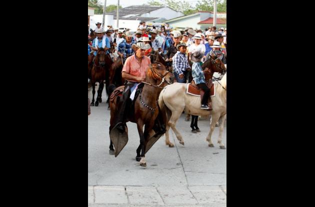 Cabalgata en Arjona