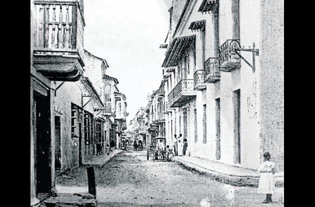 1900: Calle del Cuartel.
