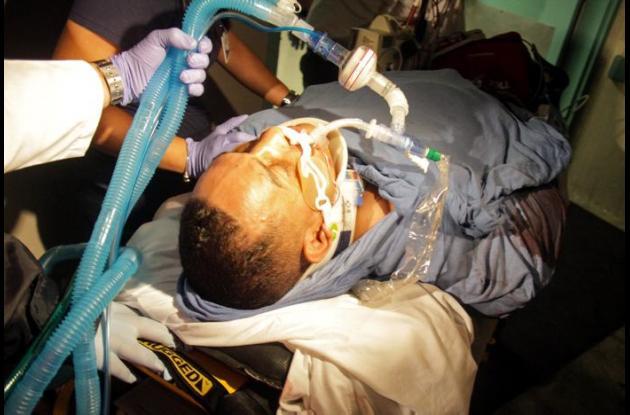 Héctor Camacho, herido de gravedad.