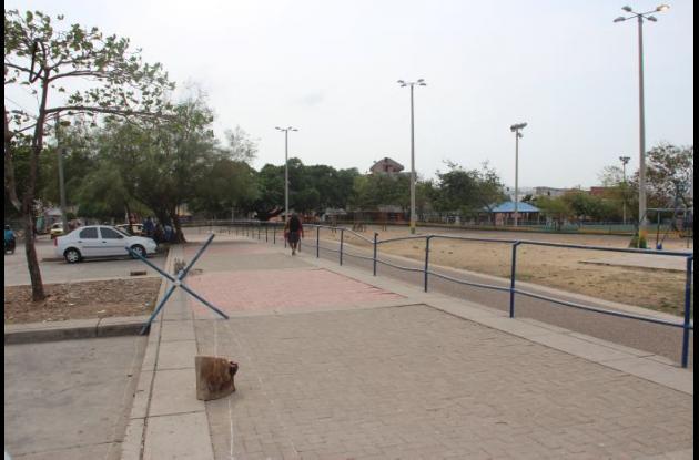 Vandalismo contra escenarios deportivos en El Campestre.