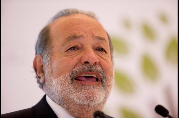 Carlos Slim, el hombre más rico del mundo, según Forbes.
