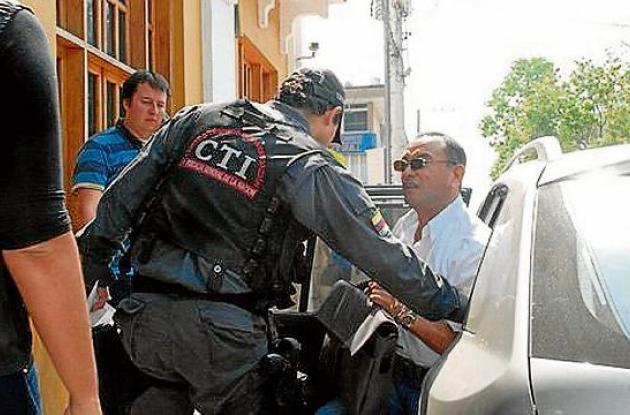Abogados capturados en Montería el pasado 21 de febrero.