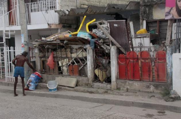 Caso acumulador en barrio Chile