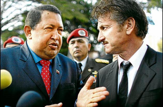 Penn, lamentó la muerte del mandatario venezolano.