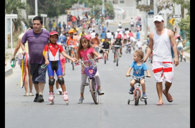Ciclovía recreativa