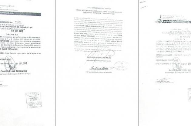 Decretos Alcaldía de Cartagena.