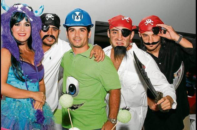 Disfraces en el Club Cartagena