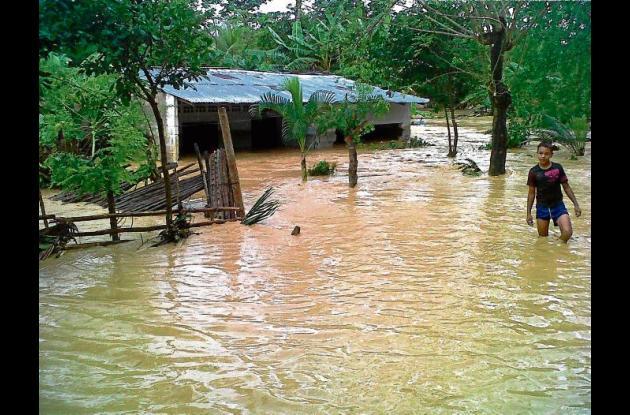 En Tierralta algunas familias tuvieron que abandonar sus casas por el invierno