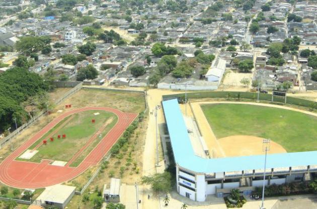 Unidad Deportiva Fidel Mendoza Carrasquilla.