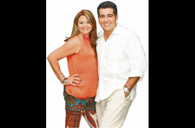 Carlos Calero y su esposa