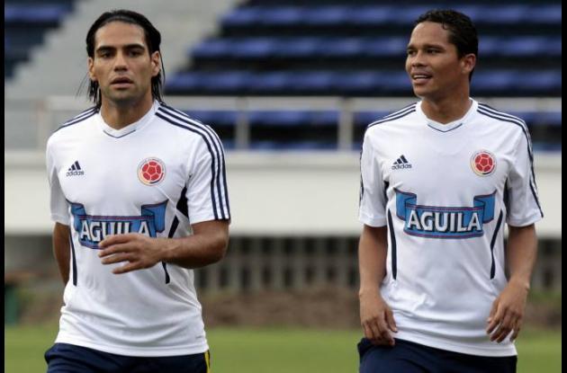 Falcao García y Carlos Bacca