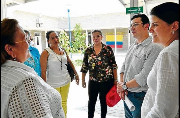 Germán Quiroga, director de primera infancia del ICBF, de visita en Montería.