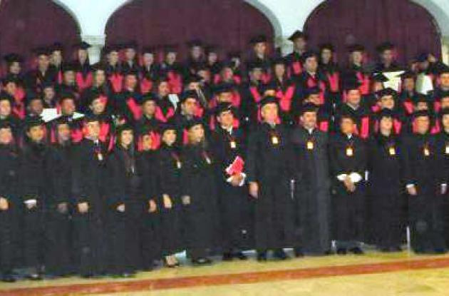 Grados en la Universidad del Sinú.