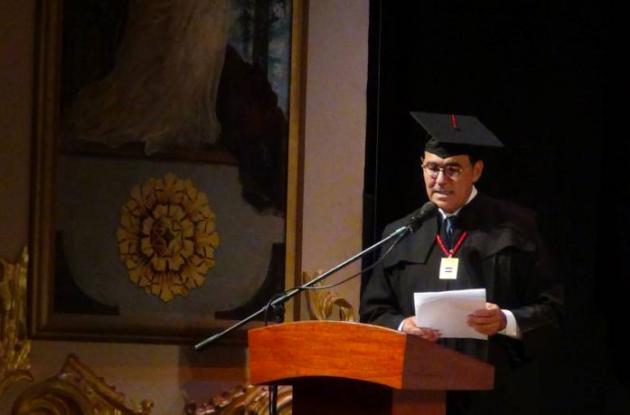 Rolando Bechara, rector de la Universidad