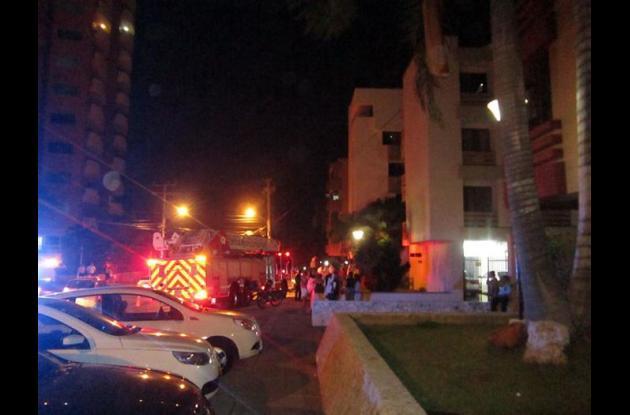 Incendio al Norte de Barranquilla