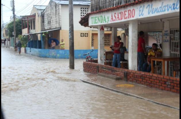 Aguaceros en Cartagena