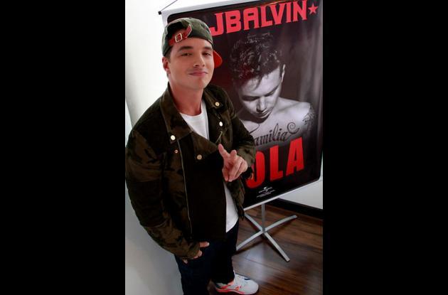 El cantante J. Balvin.