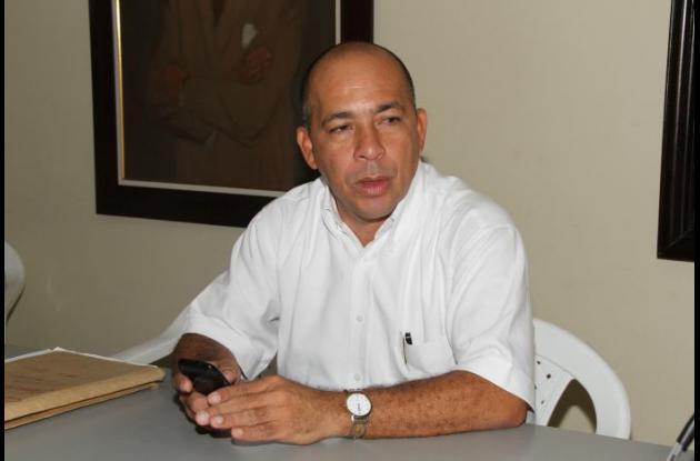 José Hilario Bossio Pérez, secretario del Interior del departamento de Bolívar.