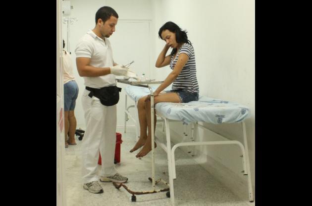 Mujer apuñalada en Barranquilla