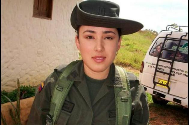La subteniente de la policía, Erika Viviana Córdoba Rodríguez.jpg
