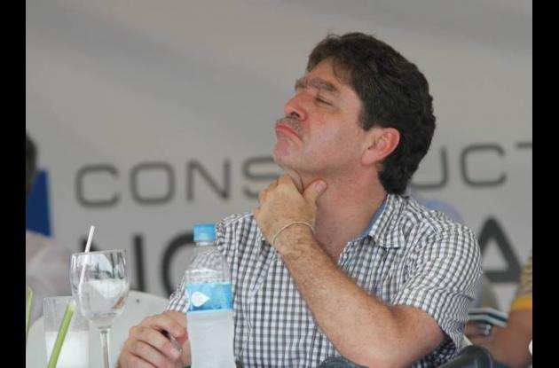 Bruce Mac Master, alcalde encargado de Cartagena.