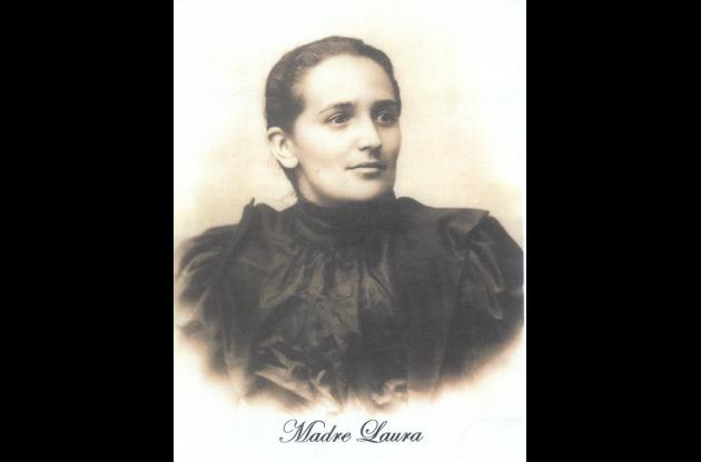 Madre Laura, primera santa colombiana.